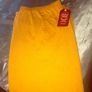 Mustard colored Maxi skirt Size XXL/20